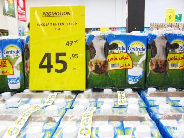 Centrale laitière a annoncé une baisse du prix du lait pour le ramadan