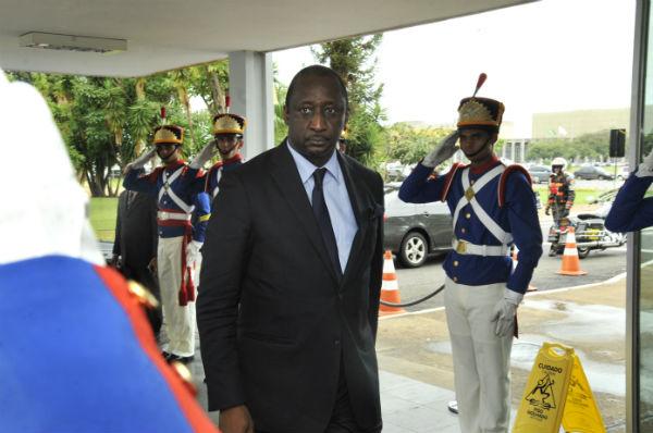 Tiéman Hubert Coulibaly, ex-ministre malien des Affaires étrangères.