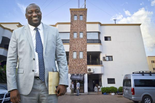 Ibrahima Diawara,à Bamako.