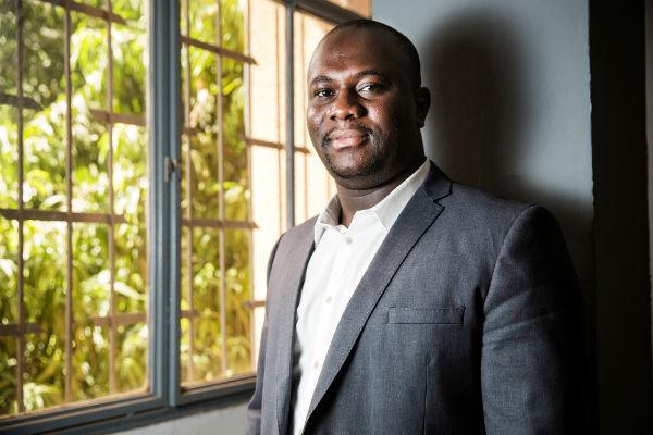 Pascal Kokou Nunyabu, DGA de CGE BTP, au Burkina Faso en mai 2018
