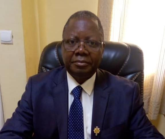 Alphonse Nombré, vice-président du groupe parlementaire CDP.