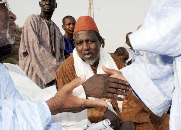 Mahmoud Dicko ex-président du Haut Conseil islamique malien, ici en 2012 à Bamako.