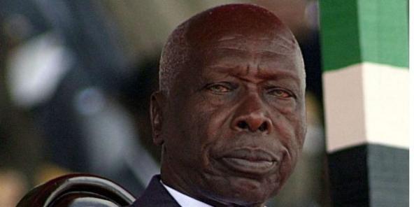 Daniel arap Moi, ancien président kényan