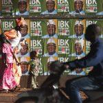 A Bamako, lors de la campagne présidentielle de 2013.