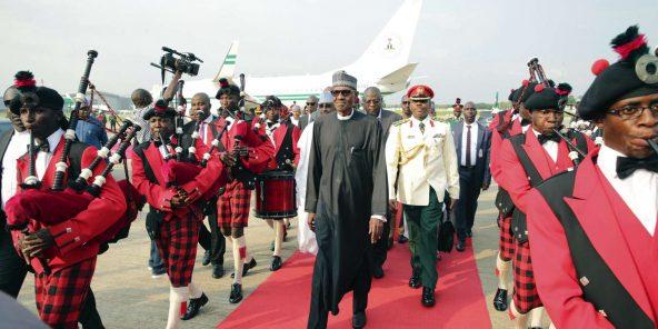 Le président nigérian Muhammadu Buhari le 19 août 2017 à Abuja.