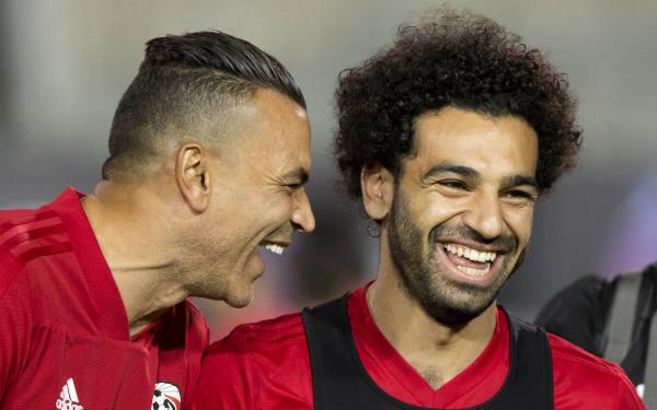Essam El-Hadary et Mohamed Salah, les deux stars de la sélection égyptienne.