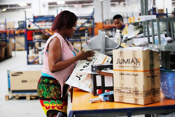 Un entrepôt du groupe, à Ikeja, dans la banlieue de Lagos.
