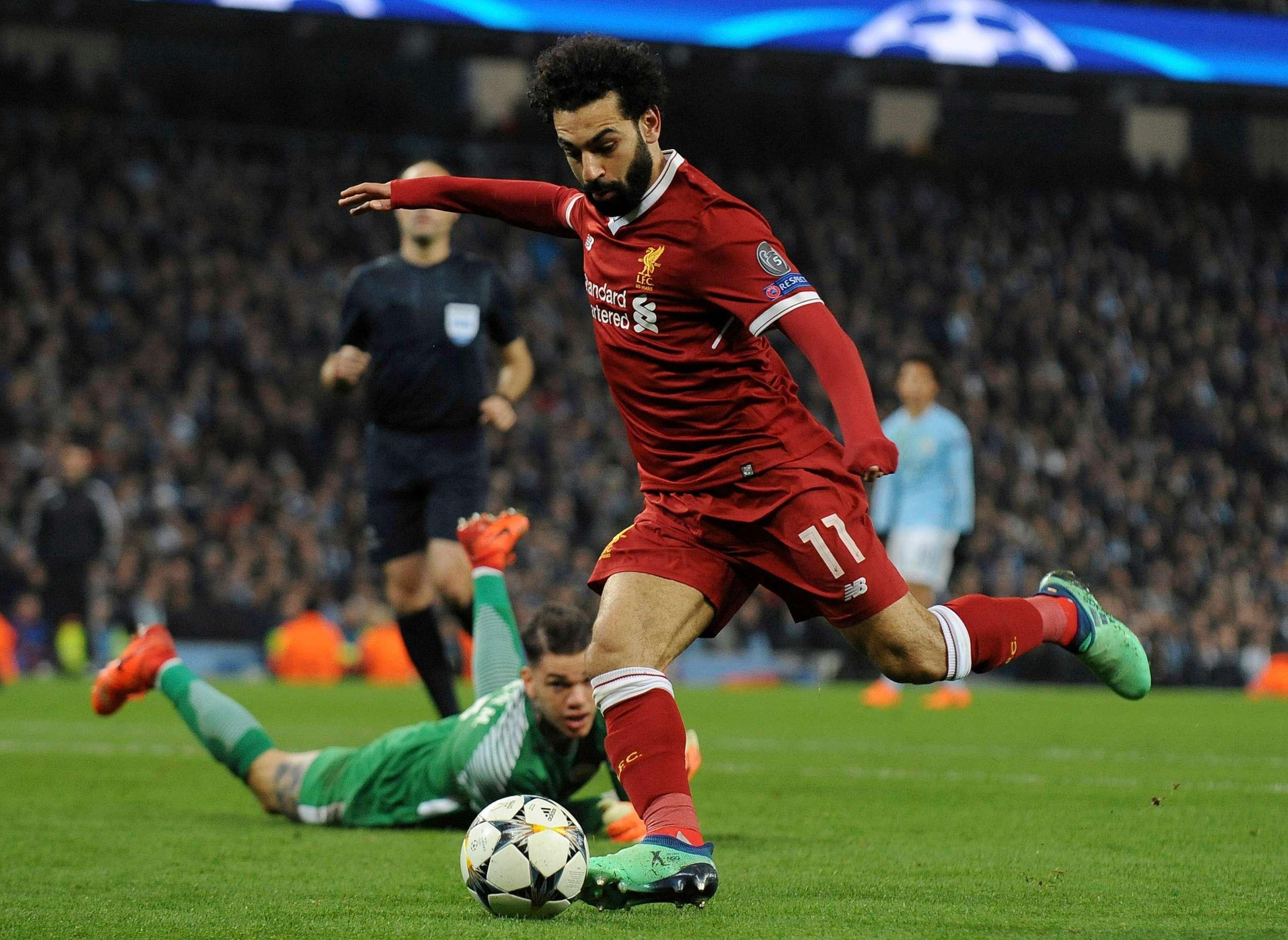 Mohamed Salah, star de l'équipe égyptienne.