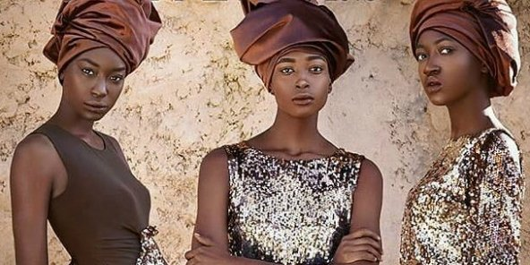 L'un des visuels de la Dakar Fashion Week 2018.