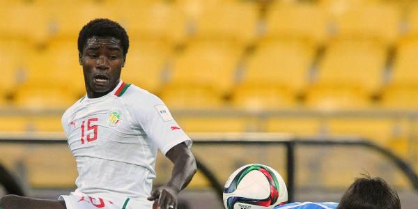 Le Sénégalais Moussa Wagué pendant le Mondial U20 en Nouvelle-Zélande, le 14 juin 2015.