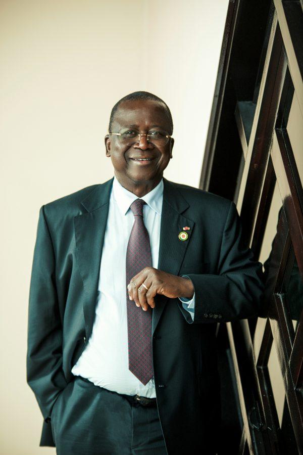 Jeannot Ahoussou-Kouadio, le 11 mai 2018 à Abidjan.