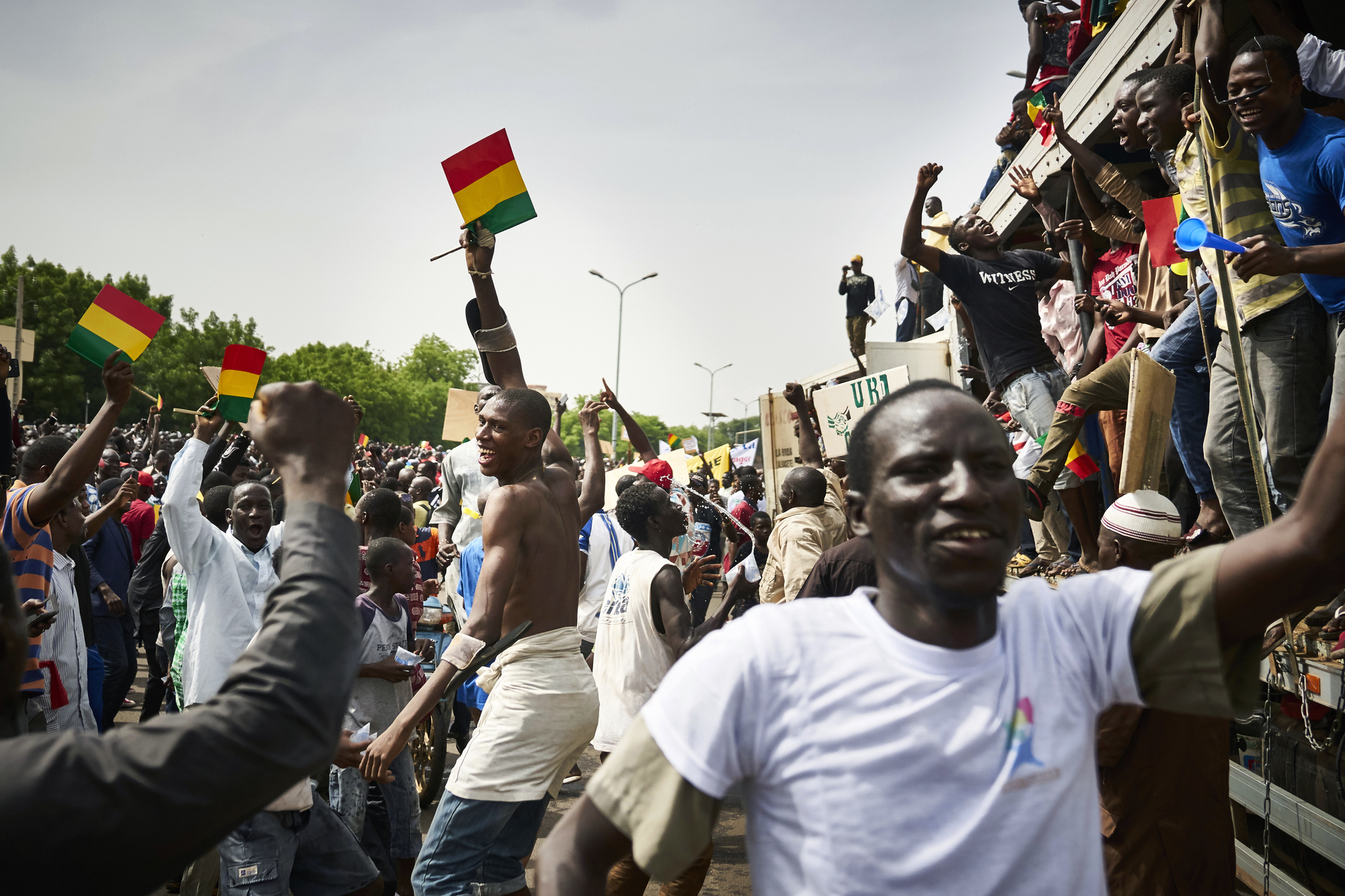 Manifestation de l'opposition, le 8juin, à Bamako.