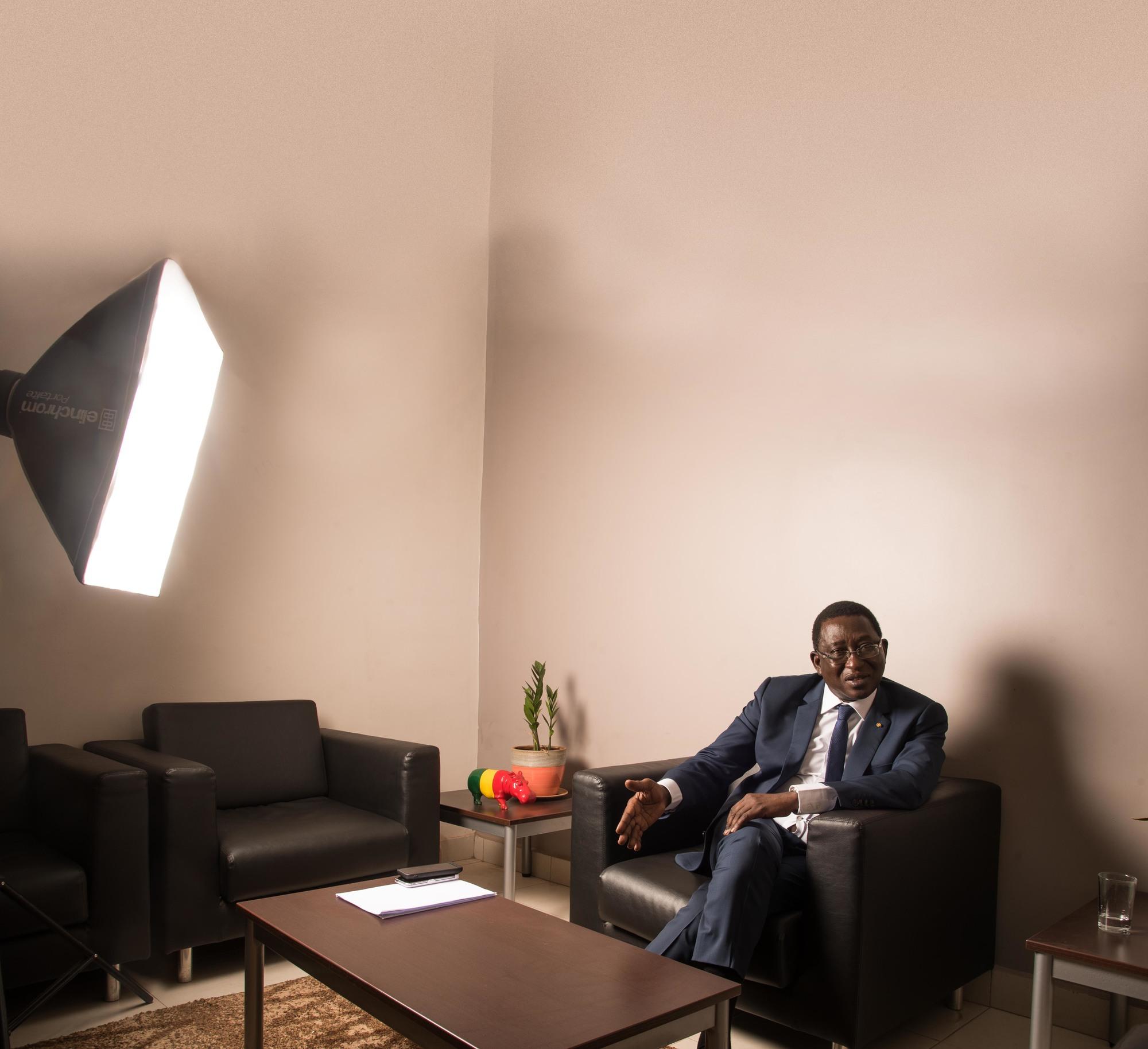 À Bamako, lors de l'entretien, le 15juin.