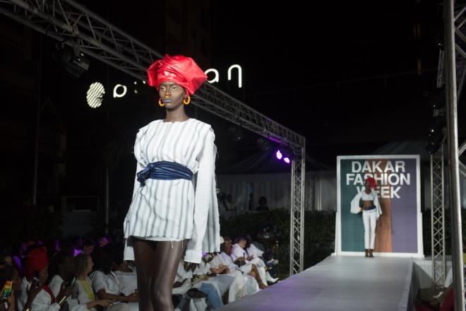 Dakar Fashion Week 2018 : un premier défilé en demi-teinte
