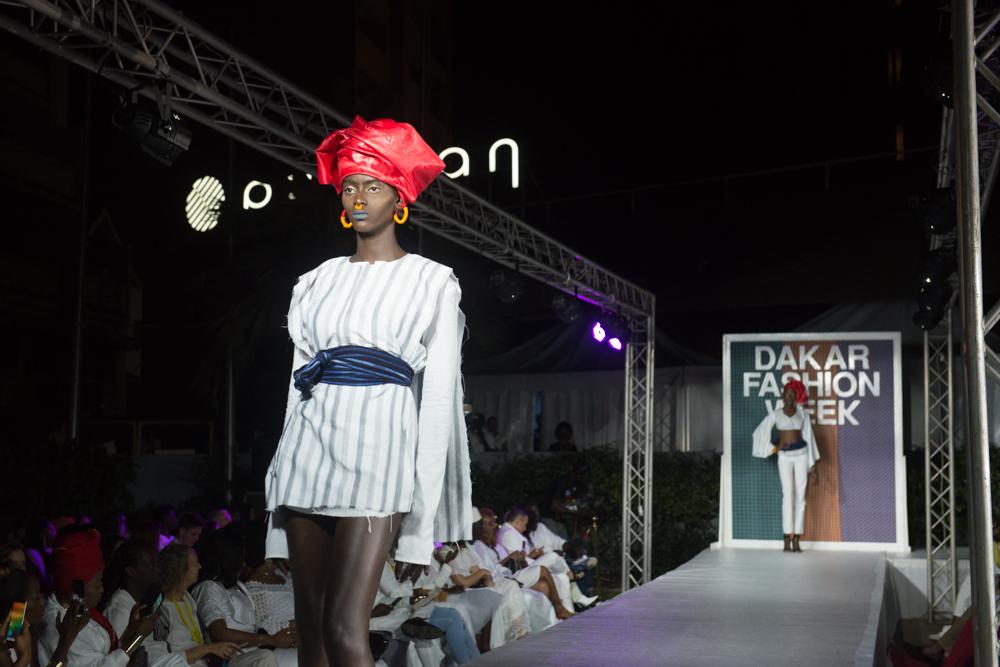 Le premier défilé de la Dakar Fashion Week, le jeudi 21 juin.