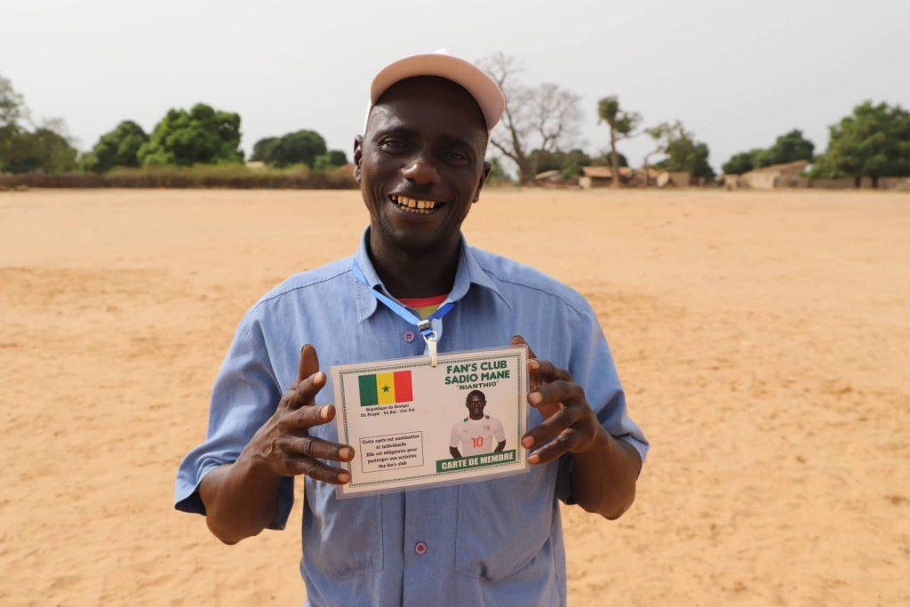 Ibrahima Diallo, le président du Fan Club de Sadio Mané.