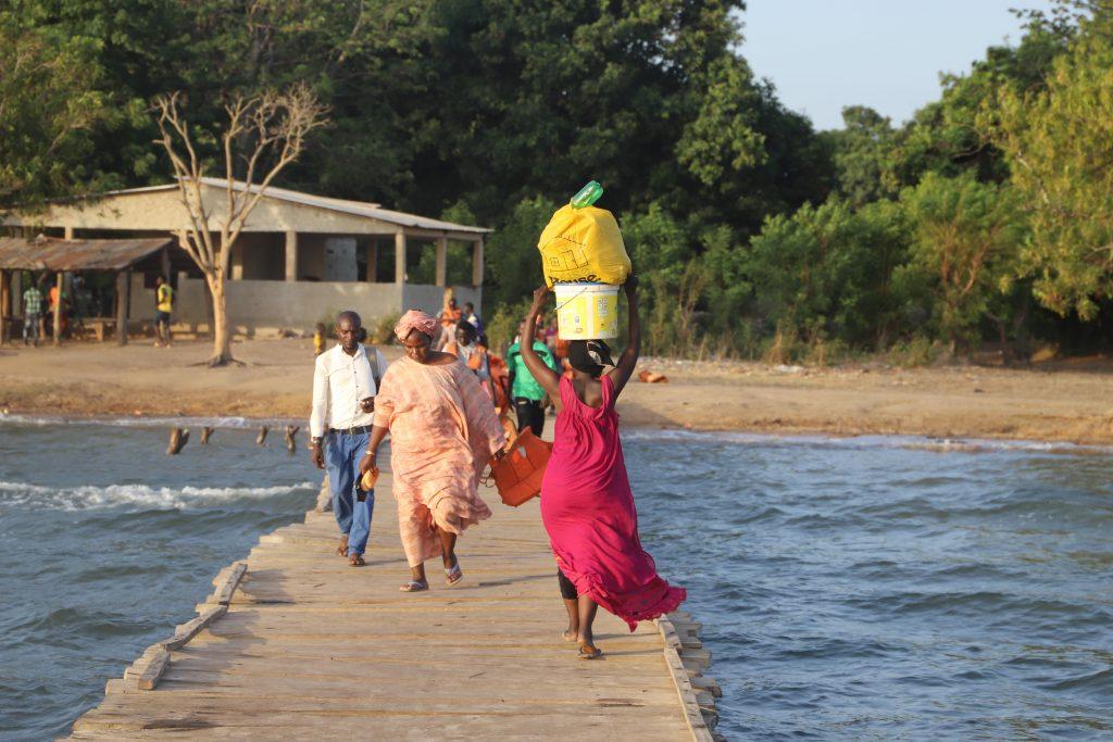 L'embarcadère du village de Sadio Mané