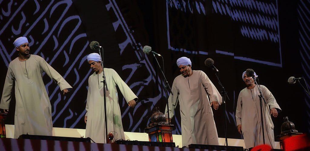 Les danseurs de Haute-Egypte au festival des musiques sacrées de Fès.