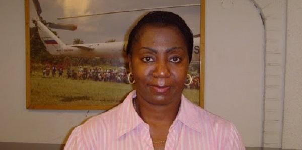 Dominique Munongo Inamizi, ancienne militante de la société civile, nommée conseillère de Moïse Katumbi en charge des relations extérieures.