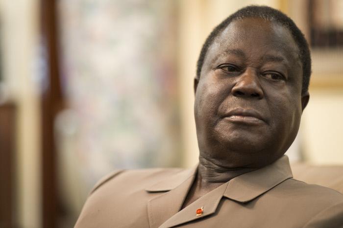 Henri Konan Bédié, le président du PDCI.