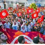 Une manifestation en Tunisie contre le gouvernement et la gestion de l'économie, en 2013 (photo d'illustration).
