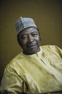 Ouhoumoudou Mahamadou (Niger), Directeur de Cabinet du Président de la république. A Niamey le 13.01.2016. © Vincent Fournier/JA