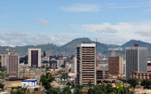 Une vue de Yaoundé, Cameroun