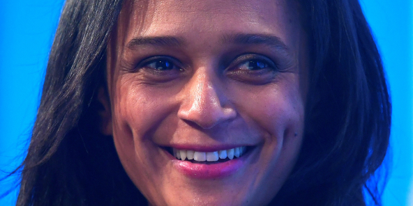 Isabel dos Santos, Chairwoman of Sonangol, speaks during a Reuters Newsmaker event in London, Britain, October 18, 2017. REUTERS/Toby Melville - RC147A8AF7D0