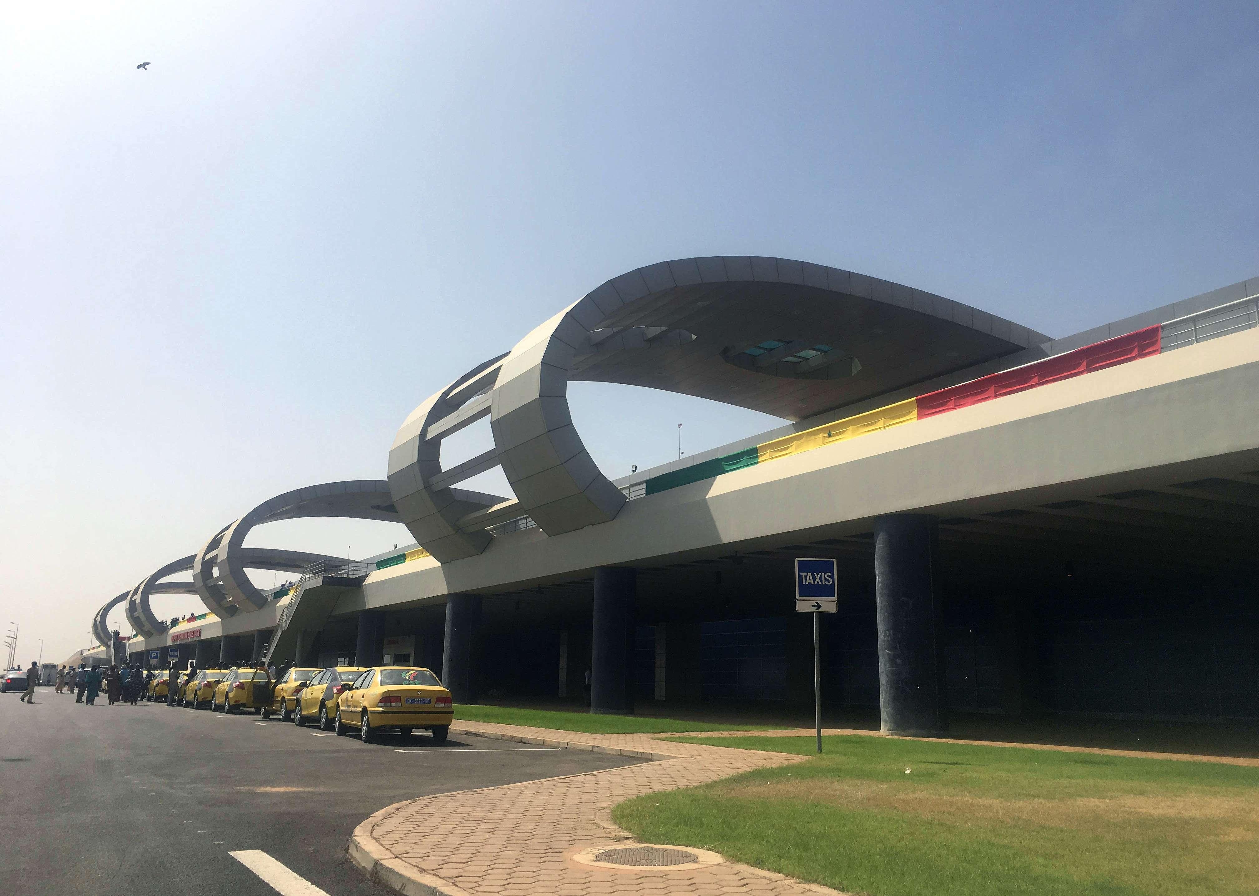 L'aéroport Blaise Diagne au Sénégal.