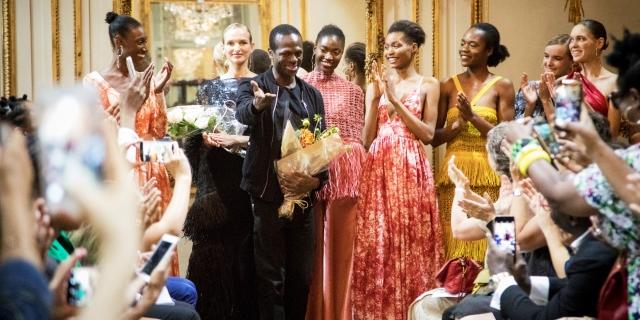5919a85ee15982 Mode : Imane Ayissi, dans la cour des grands stylistes – JeuneAfrique.com