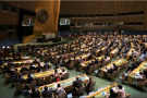 Élection de cinq membres non permanents du conseil de sécurité par l'Assemblée générale des Nations unies, le 8 juin 2018.