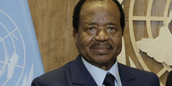 Paul Biya aux Nations unies.