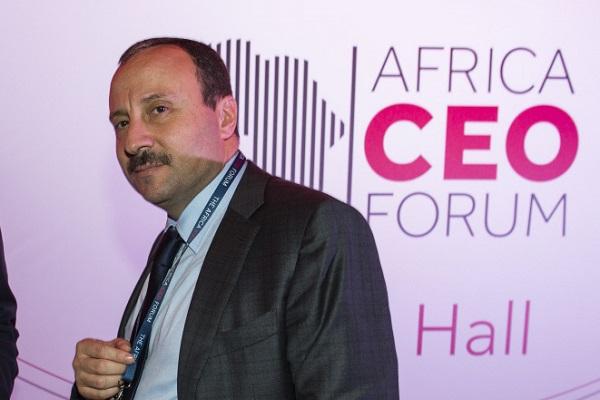 Bassem Loukil à l'Africa CEO Forum d'Abidjan en 2016.
