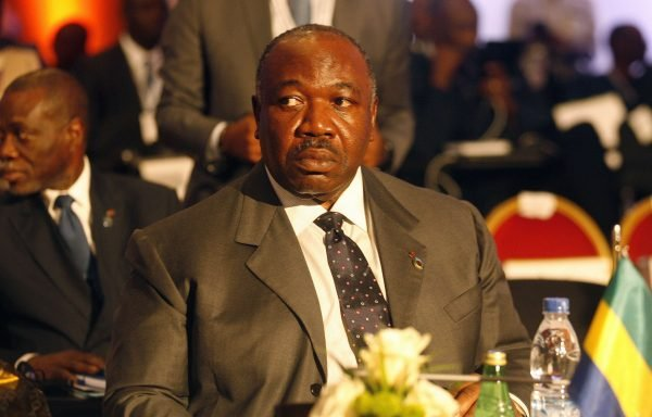 Le président gabonais Ali Bongo Ondimba au sommet Union africaine-Union européenne le 29 novembre 2017 à Abidjan, en Côte d'Ivoire.