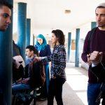 Étudiants de la faculté BenM'sik de Casablanca.