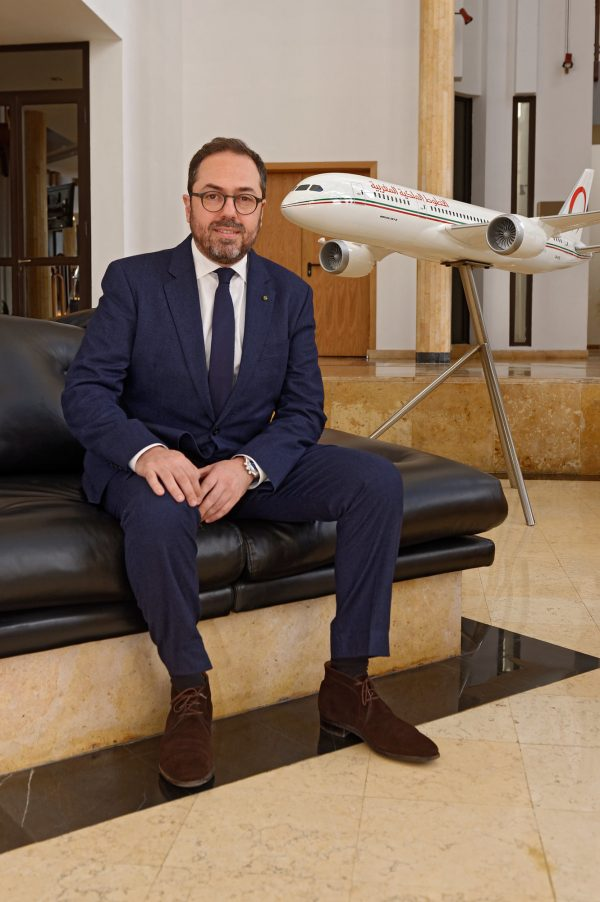 Abdelhamid Addou, PDG de Royal Air Maroc.
