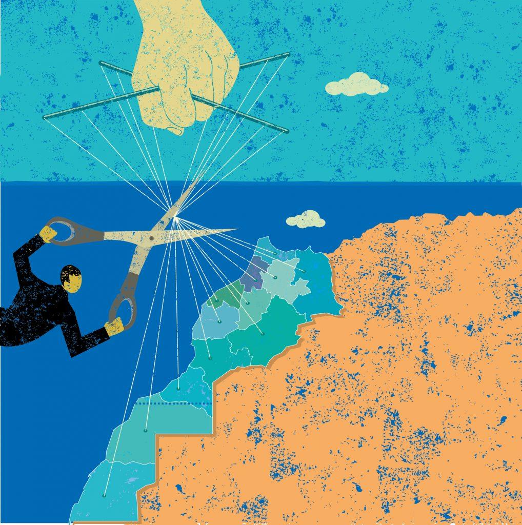 Régionalisation au Maroc (image d'illustration).