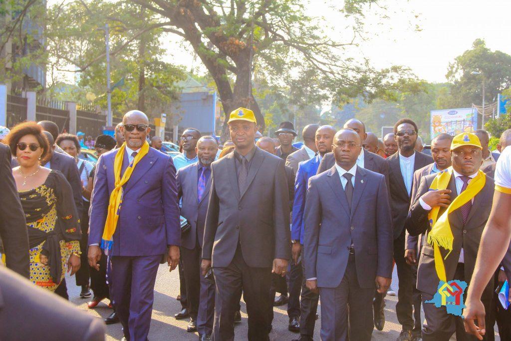 Emmanuel Ramazani Shadary, le dauphin de Joseph Kabila, le 6 août.