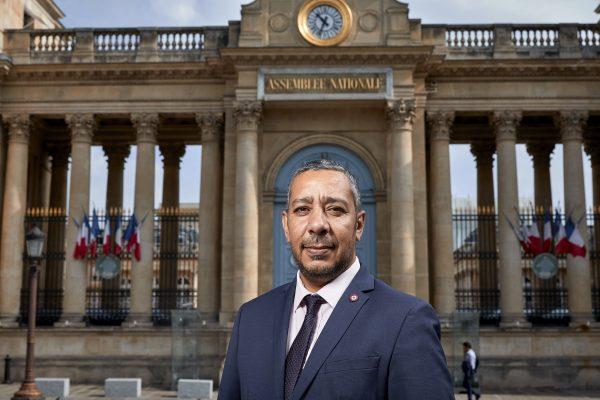 Mustapha Laabid, député de l'Ille-et-Vilaine et président du groupe d'amitié France-Maroc à l'Assemblée nationale.
