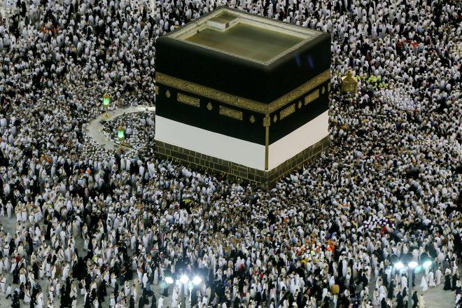 Arabie saoudite : plus de deux millions de fidèles entament le hajj à La Mecque