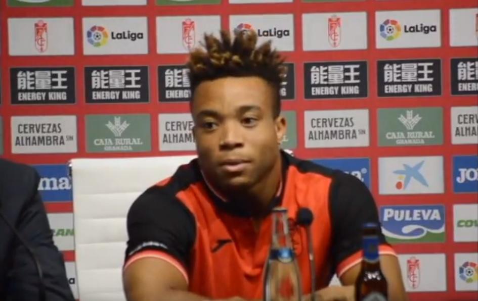 Le footballeur Pierre Kunde.