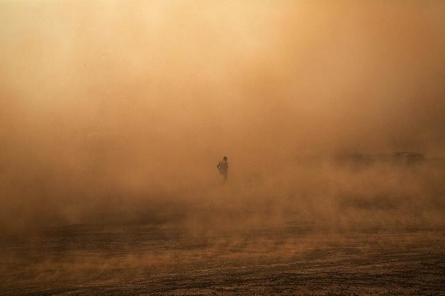 Un soldat de la Minusma, à Kidal en 2015 (archives).