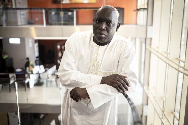 «De nombreux Sénégalais sont tétanisés à l'idée de s'exprimer sur le sujet», affirme Madiambal Diagne directeur du Quotidien,à Dakar, en juin.