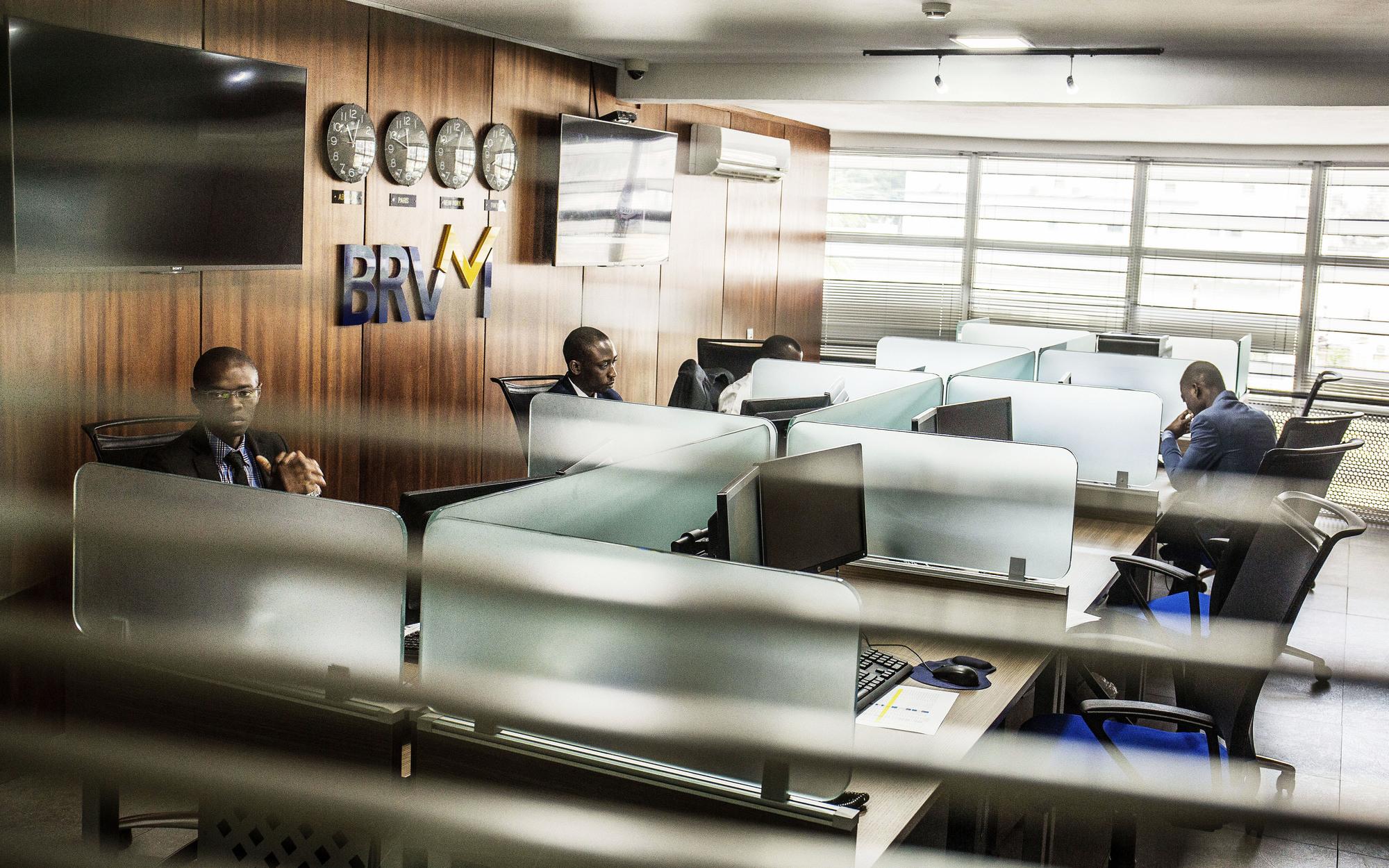 La BRVM, dont le siège est à Abidjan, est la bourse commune aux huit pays de l'Uemoa.