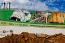 L'usine d'incinération de déchets de Reppie, à Addis Abeba.