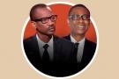 Racine Talla (g.) et Youssou Ndour (d.)