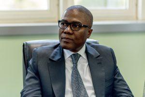 Olivier BOKO, bras droit du President TALON  en Avril 2016