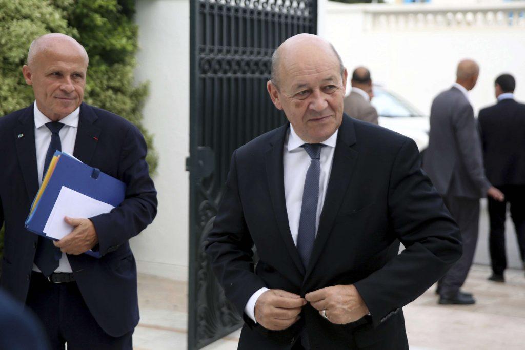 Le ministre français des Affaires étrangères, Jean-Yves Le Drian, en juillet 2018.