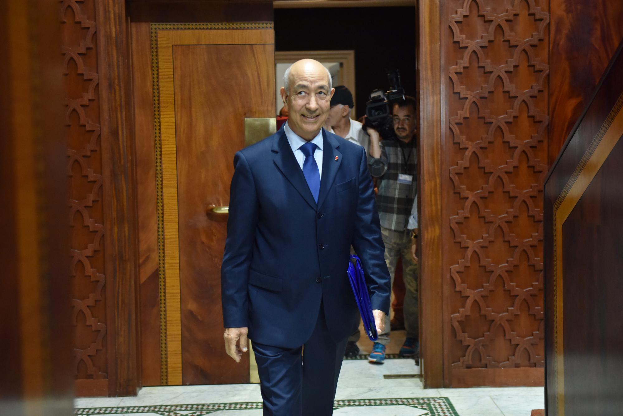 Driss Jettou, président de la Cour des comptes du Maroc.