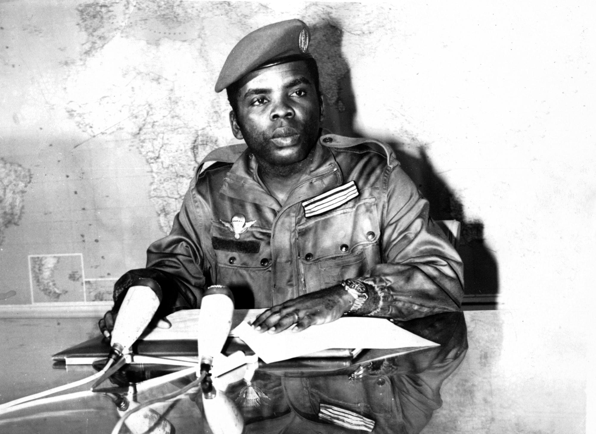 Marien Ngouabi accéda à la présidence du Congo le 31décembre 1968.